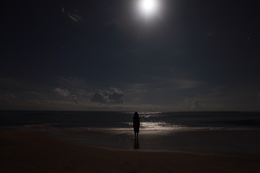Full moon, Arugam Bay