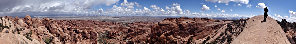 Double O trek, Arches NP