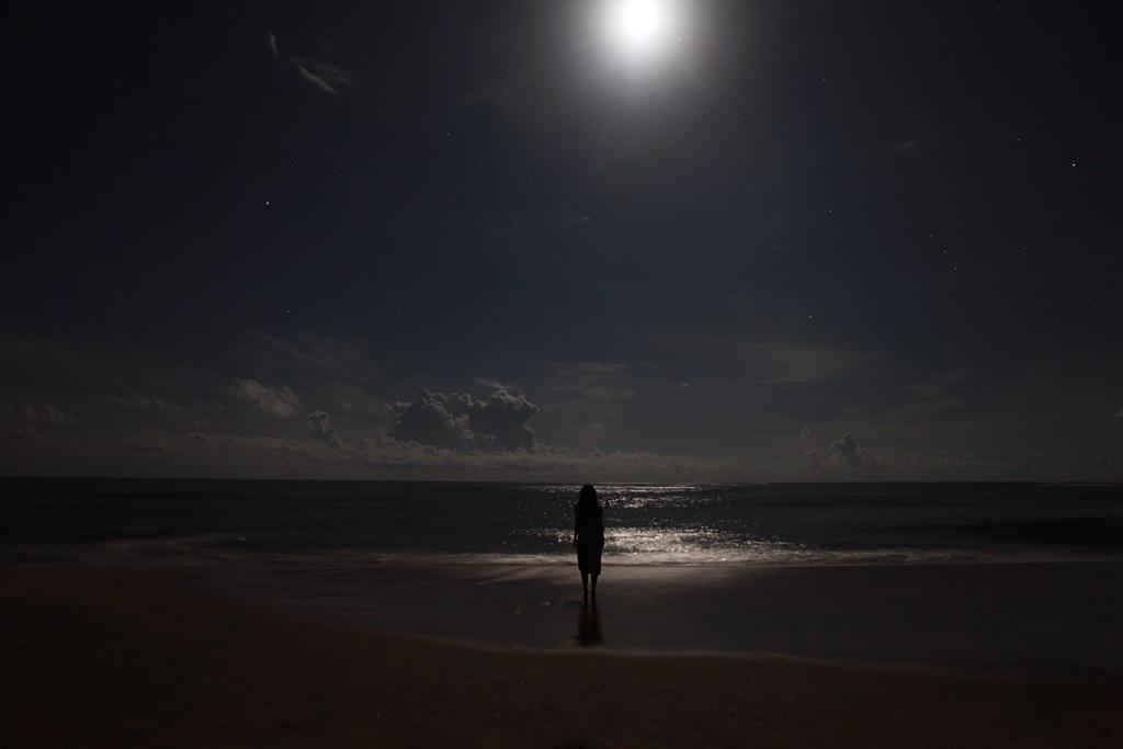 Full moon, Arugam Bay
